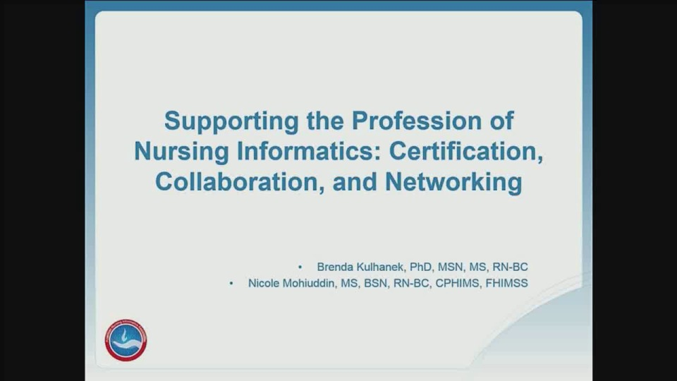 Supporting The Profession Of Nursing Informatics Certification